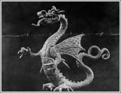 Fafnir the Dragon from Siegfried (The Walsung Hero) myths